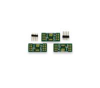 SEGGER (Q)SPI Flash Evaluator Adapter Board Pack for SO-8, SO-8W, SO-16