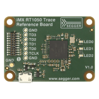 NXP iMX RT1050 Trace Reference Board